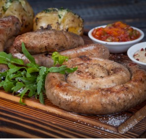 Carne tocată de mânzat pentru cârnați