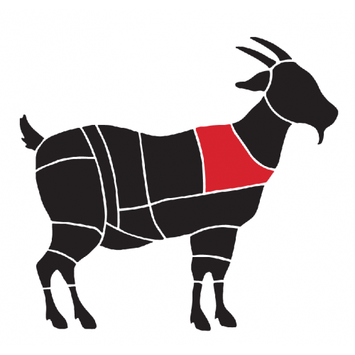 Spată de capră cu os